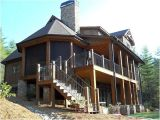 Rustic Home Plans with Walkout Basement Rustic Mountain House Plan Walkout Basement Jpg 560 420