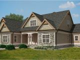 Rustic Lake Home Plans Craftsman Style Lake House Plan with Walkout Basement