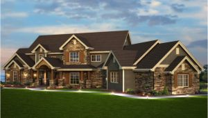 Rustic Luxury Home Plan Elk Trail Rustic Luxury Home Plan 101s 0013 House Plans