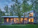 Rustic Vacation Home Plans Modern Rustic Cabin Montana