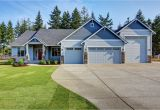 Rv Home Plans 2628 Rambler Plan with An attached Rv Garage Exteriors