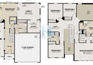 Ryland Home Plans Ryland Home Floor Plans
