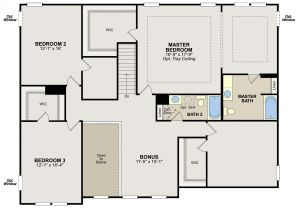 Ryland Home Plans Ryland Homes Floor Plans atlanta
