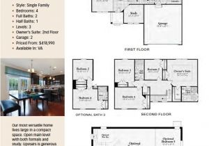 Ryland Home Plans Ryland Homes Floor Plans One Story Gurus Floor