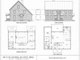 Saltbox Home Floor Plans Authentic Saltbox House Plans Cottage House Plans