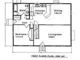 Saltbox Home Floor Plans House Plan 94007 at Familyhomeplans Com