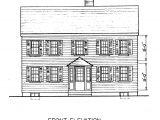 Saltbox Home Plans Free Saltbox House Plans Saltbox House Floor Plans