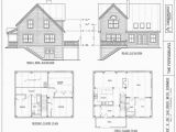 Saltbox Home Plans Post Beam House Plans and Timber Frame Drawing Packages