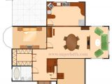 Sample Floor Plan for Small House Single Bed House Plan Sample Superhdfx
