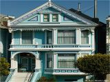 San Francisco Style House Plans Blue Victorian House San Francisco Houses Yellow Victorian