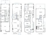 San Francisco Style House Plans San Francisco townhouse Floor Plans