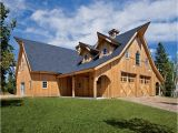 Sand Creek Post and Beam House Plans Traditional Wood Barn Combination Barn Project Mgi310