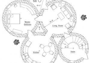 Sandbag Home Plans Roundhouse Plan Earthbag House Plans