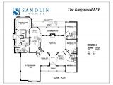 Sandlin Homes Floor Plans Sandlin Floorplans Kingswood I Sandlin Homes