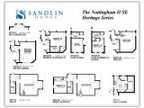 Sandlin Homes Floor Plans Sandlin Floorplans Nottingham Ii Sandlin Homes