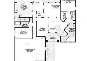 Santa Fe Home Plans Catalina Canyon Santa Fe Home Plan 106s 0085 House Plans