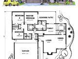 Santa Fe Home Plans Santa Fe southwest House Plan 54604