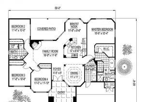 Santa Fe Home Plans Santa Fe southwest House Plan 54678