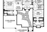 Santa Fe Style Home Floor Plans Cervantes Santa Fe Style Home Plan 051d 0350 House Plans