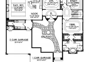 Santa Fe Style Home Floor Plans Cervantes Santa Fe Style Home Plan 051d 0350 House Plans