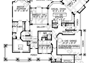 Santa Fe Style Home Floor Plans Santa Fe House Plan House Plans by Garrell associates Inc