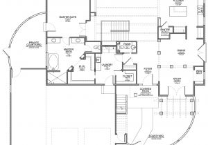 Santa Fe Style Home Floor Plans Santa Fe Style Home with Walkout Floor Plan Evstudio