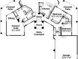Santa Fe Style Home Plans Hexagonal Home Plan Styles