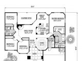 Santa Fe Style Home Plans Santa Fe southwest House Plan 54678