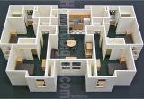 Scale Model House Plans Floor Lay Out Foam Board Model Building Modeling