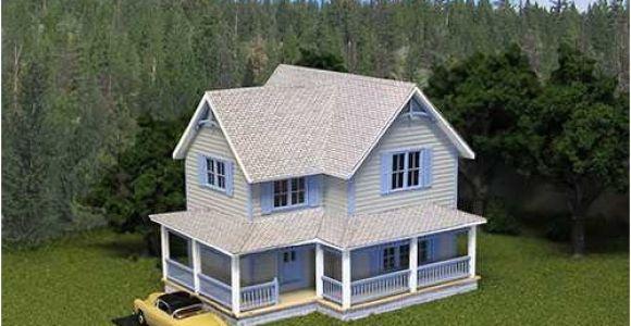 Scale Model House Plans Model Train Structure Plans