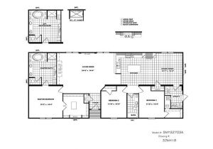 Schult Manufactured Homes Floor Plans Cmh Schult Tyler Smh32703a Mobile Home for Sale