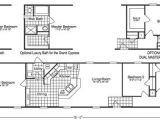 Scotbilt Homes Floor Plans Beautiful 1998 Fleetwood Mobile Home Floor Plans New