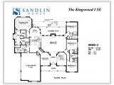 Se Homes Floor Plans Sandlin Floorplans Kingswood I Sandlin Homes