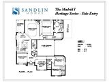 Se Homes Floor Plans Sandlin Floorplans Madrid I Se Sandlin Homes