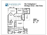 Se Homes Floor Plans Sandlin Floorplans Nottingham I Sandlin Homes
