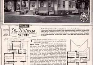 Sears Kit Homes Floor Plans 1923 Sears Modern Home Kit House Hillrose Foursquare