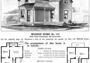 Sears Kit Homes Floor Plans Sears Homes 1908 1940