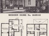 Sears Modern Home Plans Four Square House Plans American Four Square Sears