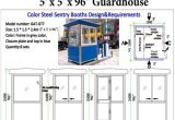 Security Guard House Plans Fascinating Security Guard House Floor Plan Photos Best