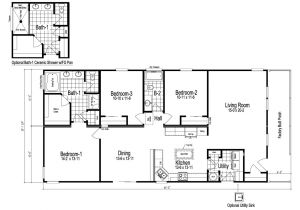 Select Homes Floor Plans Wilmington Manufactured Home Floor Plan or Modular Floor Plans