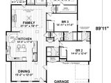 Shallow Lot Ranch House Plans Narrow Ranch House Plans 2018 House Plans and Home