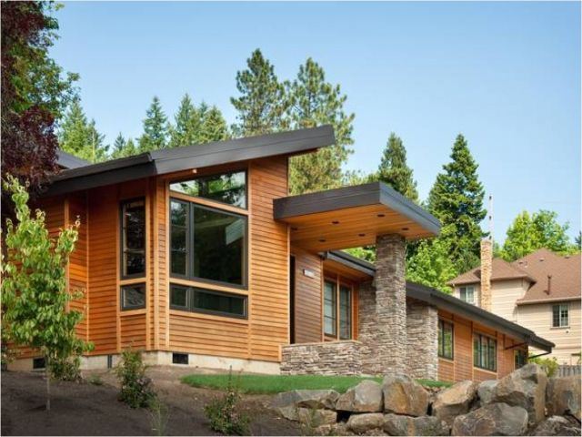 Shed Style Home Plans Modern Shed Roof Homes Plougonver Com