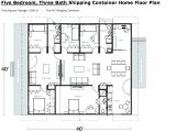 Shipping Container Home Floor Plans 4 Bedroom 4 Bedroom Shipping Container Home Plans Container Homes