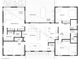 Shipping Container Home Floor Plans 4 Bedroom H Shaped Container Home Plan House Planes In 2018