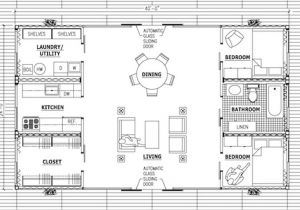 Shipping Container Home Plans Amp Drawings Container House