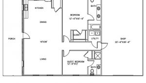 Shop House Plans and Prices 30 Barndominium Floor Plans for Different Purpose