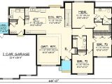 Side Load Garage Ranch House Plans 3 Bed Brick Ranch with Side Load Garage 89911ah