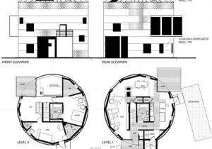 Silo Home Floor Plans Creating Cylindrical Prefab Homes From Renovated Grain