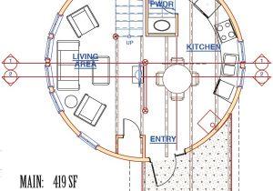 Silo Home Floor Plans the Ruby Silo Pioneer Cabin Company