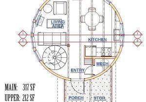 Silo Home Floor Plans the Silvercreek Silo Pioneer Cabin Company